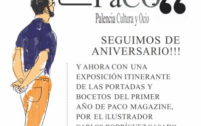 EXPOSICIÓN PORTADAS PACO – PALENCIA CULTURA Y OCIO