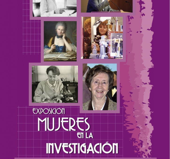 INAUGURACIÓN EXPOSICIÓN MUJERES EN LA INVESTIGACIÓN