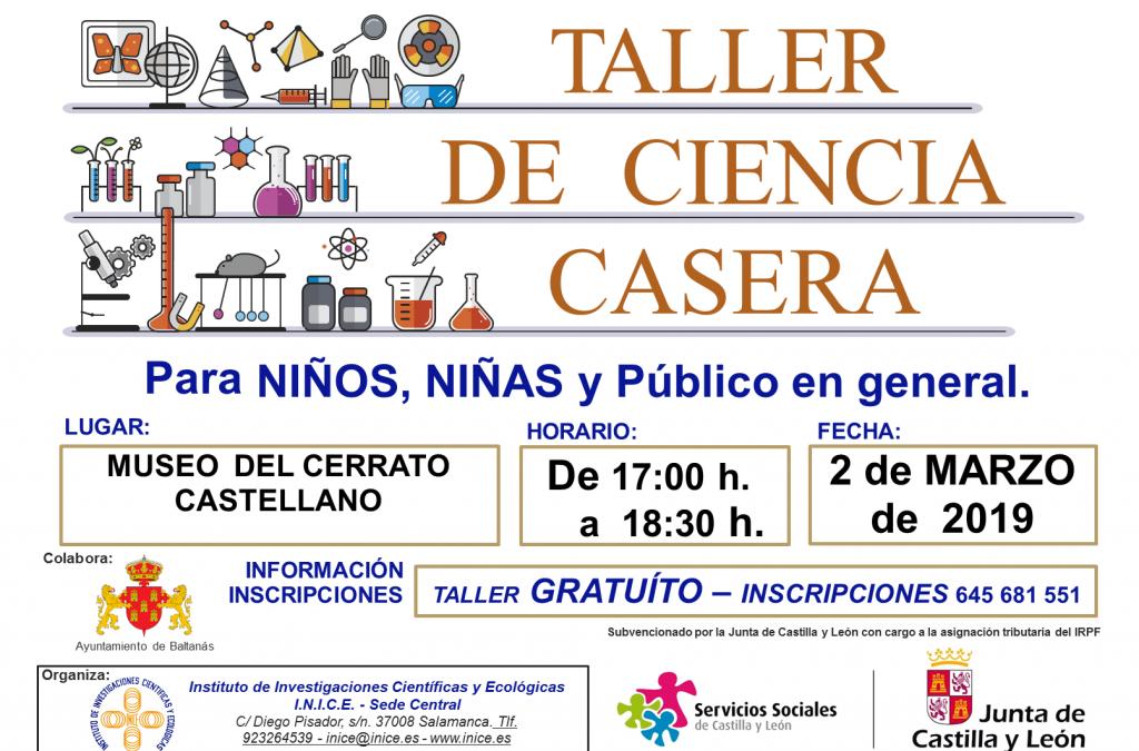 TALLER DE CIENCIA CASERA